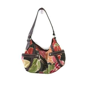 FOSSIL Multi color Floral Shoulder bag